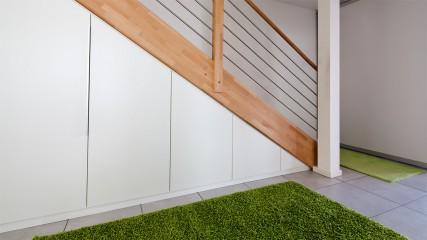 einbauschrank unter der treppe held schreinerei interior design. Black Bedroom Furniture Sets. Home Design Ideas