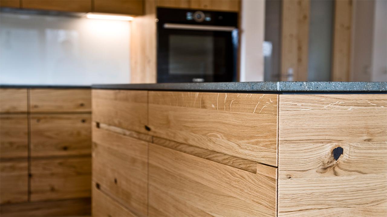 schreinerkueche 19 8. Black Bedroom Furniture Sets. Home Design Ideas